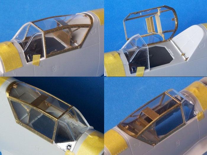 & Messerschmitt Bf 109 Erla Canopy (RB Productions 1/32)