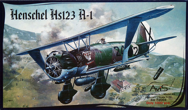 Henschel Hs 123 A 1 Review By Dave West Avis 1 72