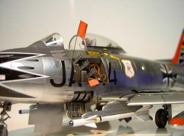 Canadair Cl 13 Sabre Mk 6 By Hubert Ortinger Hasegawa 1 48