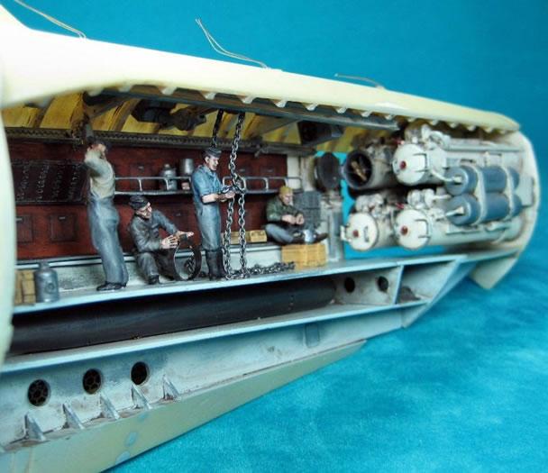 type viic u boat by frank dargies revell 1 72. Black Bedroom Furniture Sets. Home Design Ideas