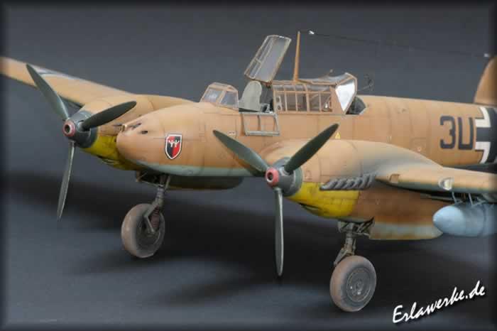Messerschmitt Bf 110 E By Oliver Peissl Eduard 1 48