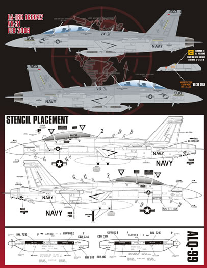 EA-18G Decal Review by Rodger Kelly (Afterburner Decals 1/48)