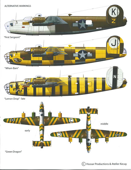 Hussar 1 72 Scale Liberator And Lancaster Wheel Review By