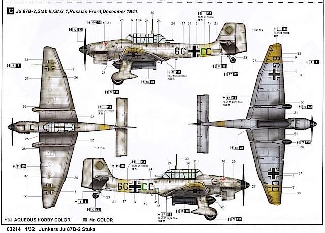 scale Junkers Ju 87 B-2