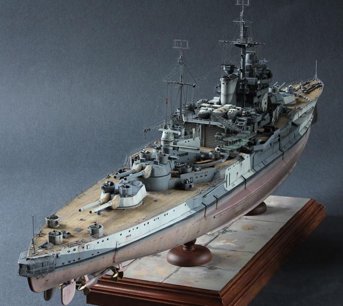 Academy 1/350 HMS Warspite by Julian Seddon