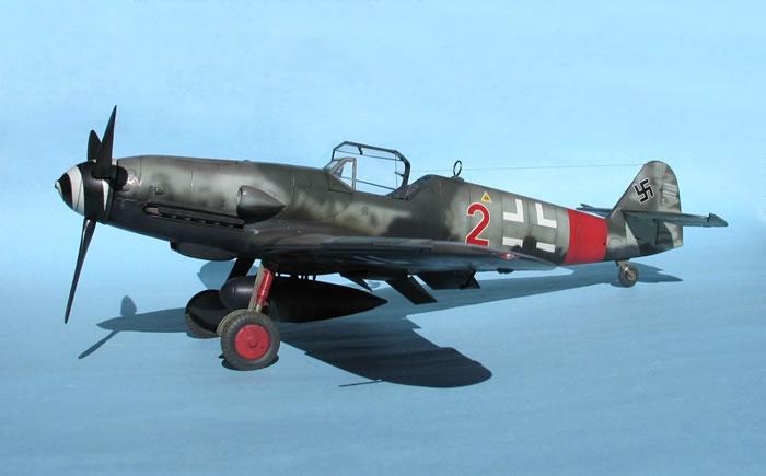 Hasegawa S 1 32 Scale Messerschmitt Bf 109 G 6 As By Tolga