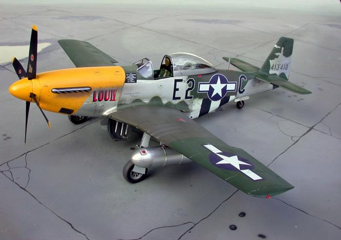 Cl Mustang >> Revell 1/32 P-51D Mustang by Dieter Wiegmann