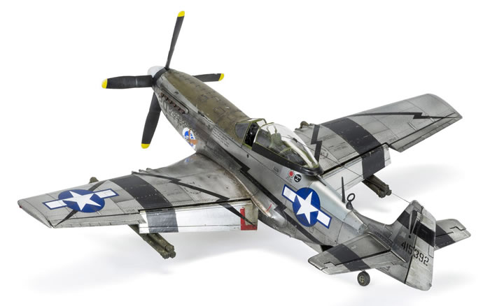 Airfix 1 48 Scale North American P 51d Mustang Review By