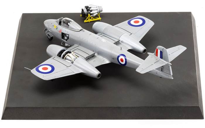 Airfix Kit No A09184 Gloster Meteor F8 Korea Review By James Hatch