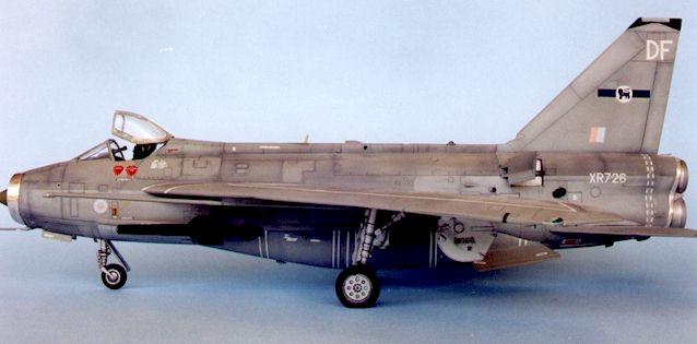 English Electric Lightning F 6 By Brett Green Airfix 1 48