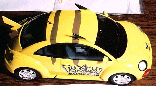 Pokemon New Vw Beetle By John Chung Tamiya 1 35