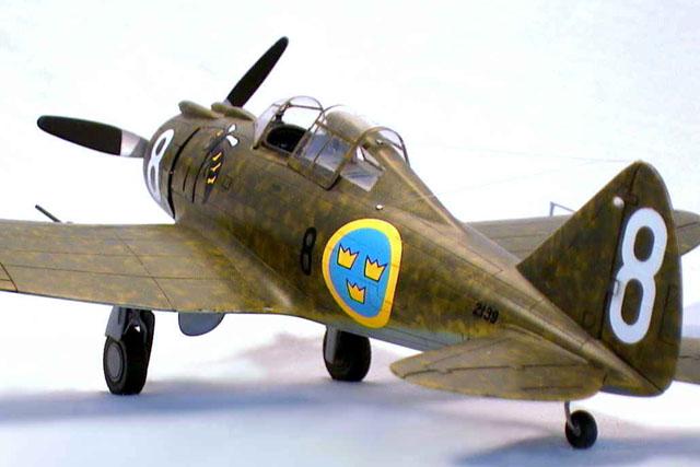 SPECIAL HOBBY 1//72 SEVERSKY P-35 /'SILVER WINGS ERA/' KIT