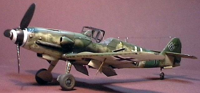 Messerschmitt Bf 109K-4 by Glenn Irvine (Revell/Monogram 1/48)