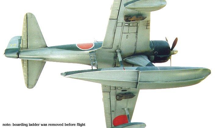 nakajima a6m2 type 2 floatplane fighter  u0026quot rufe u0026quot