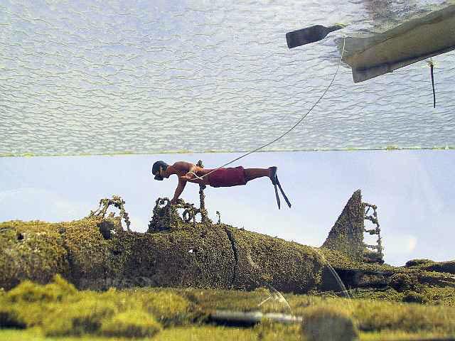 the souvenir hunters diorama  tamiya and scratchbuilt 1  48