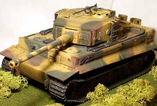 Tiger I Ausf  E by Mark Beckwith (Italeri 1/35)