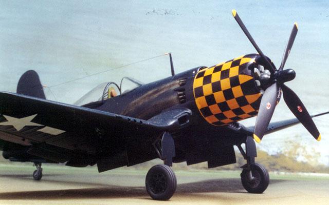 Goodyear F2g 1 Corsair By Bob Waites Hasegawa Amp War