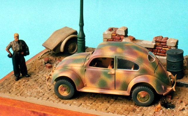 Vw Type 82e Diorama By Frederic Dete  Cmk And Adv 1  35