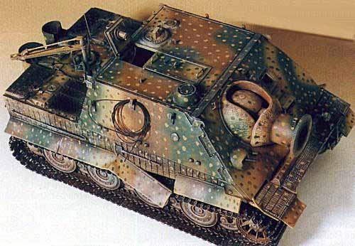 Drive A Tank >> Sturmtiger by Randy Colvin (Italeri 1/35)