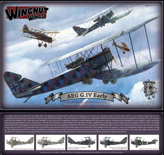 Revue de kit de la dernière maquette wingnut wings, j'ai nommé l'AEG G.IV : 32034%20AEG%20G.IV%20Early%20box%20art