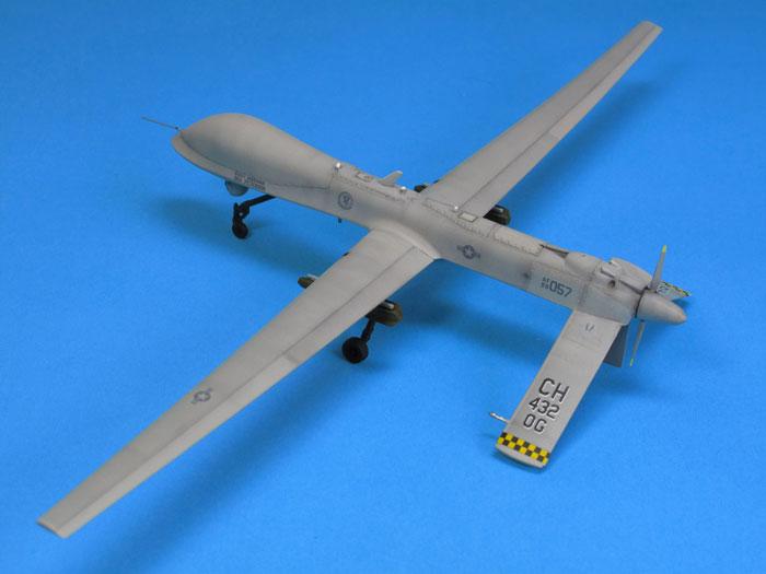 MQ-9 Reaper Plastic Model Airplane Kit 1/72 Scale #551320 ...