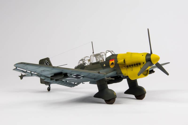 Airfix Ju B  Stuka Build