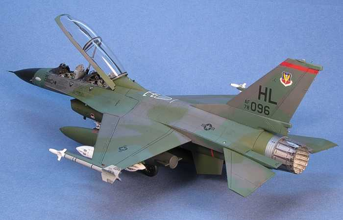 F-16B by Dave Aungst (Hasegawa 1/48) on