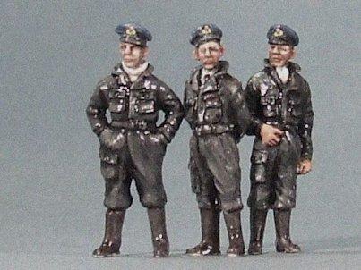 Grunthwaite Miniatures Figure Sets: GM72-018: Officers in