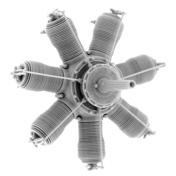 160 hp Engine Small Stuff Models 1//48 Gnome 14 Lambda-Lambda Oberursel U.III