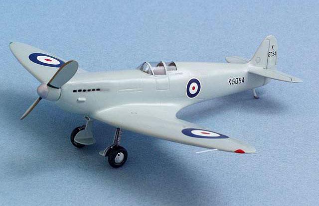 Spitfire Prototype K5054 By Bernie Hengst Cmr 1 72