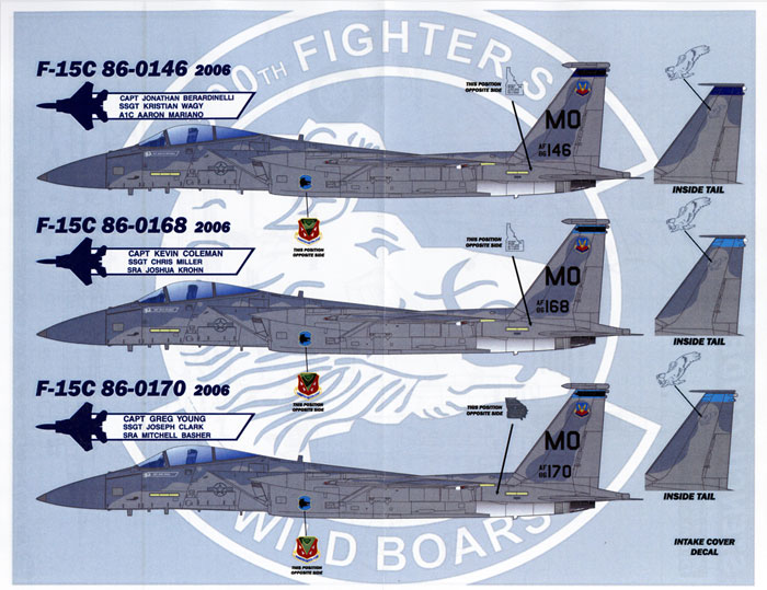 Wild Boars Decal Review by Rodger Kelly (Afterburner Decals 1/48)