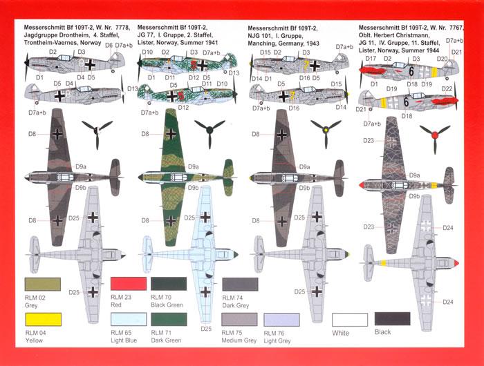 Messerschmitt Bf 109 E-3//E-4 Re-release 1//72 Amodel 72117