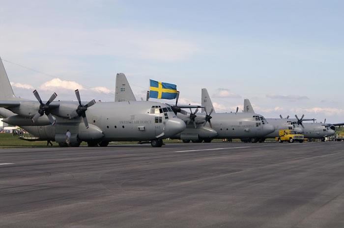 「Swedish Air Force C-130H」的圖片搜尋結果