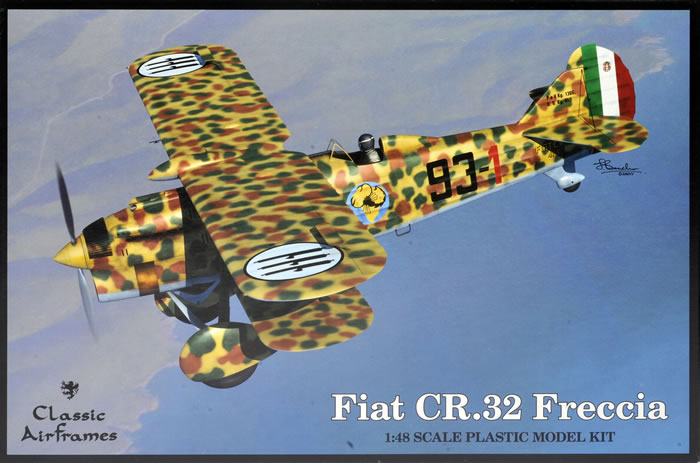 classic airframes 1  48 scale fiat cr 32 freccia review by