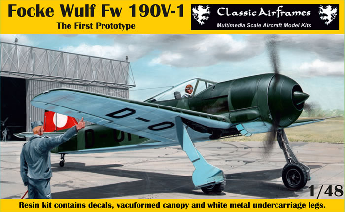 Classic Airframes Kit No R8 009 Fw 190 V1 Review By