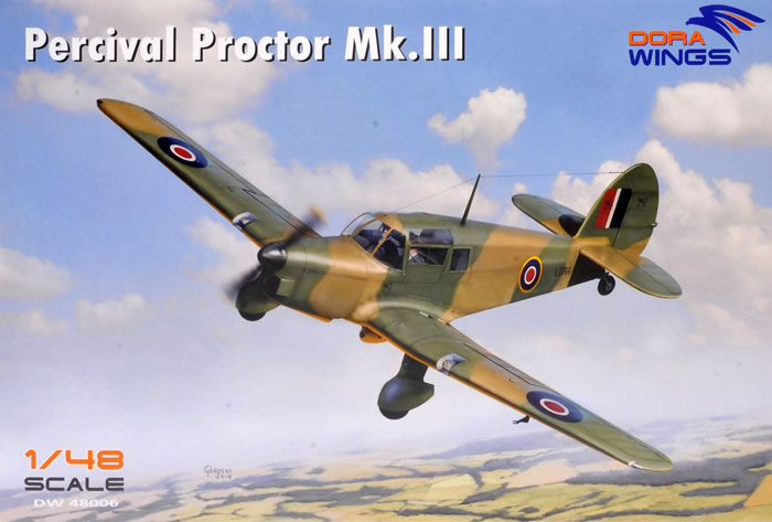 Dora Wings 1/48 Proctor Mk III and Percival P 10 Review by Brett Green
