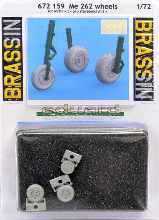 EDUARD BRASSIN 672159 Wheels for Airfix® Kit Me262 in 1:72