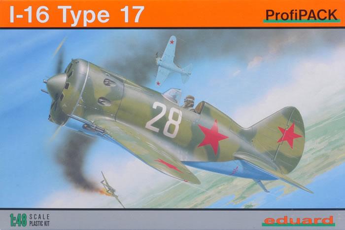 i-16 type 17 eduard 1-48