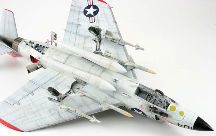 hobby boss 1 48 scale f3h 2 demon by mike williams