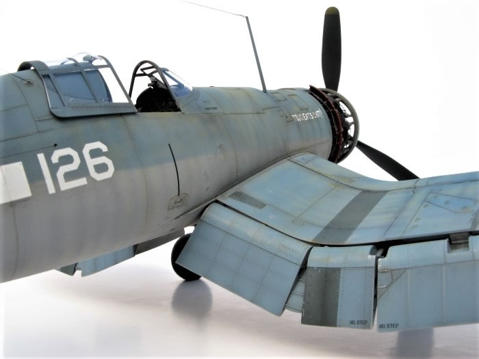 Tamiya 1/32 F4U-1 Corsair by Steve Pritchard
