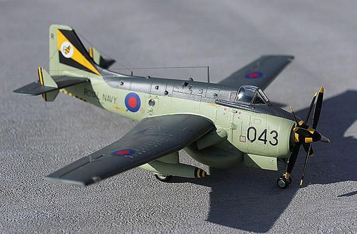 Sword 1 72 Scale Fairey Gannet Aew3 By Roger Hardy