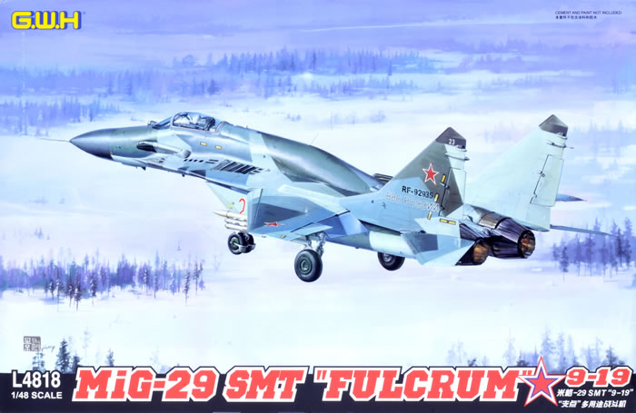 G W H Kit No L4818 Mig 29 Smt Fulcrum Late Type 9 19