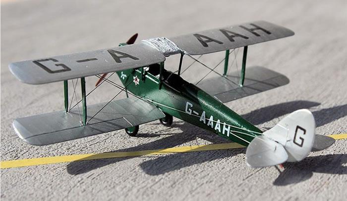 A Model Kit No AMU72286 - De Havilland D H 60G Gypsy Moth by Roger Hardy