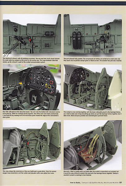 tamiya 1 32 spitfire how to build book plastic model