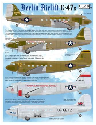 Eduard 1//72 Douglas C-47 Skytrain Cargo Seatbelts # 73514