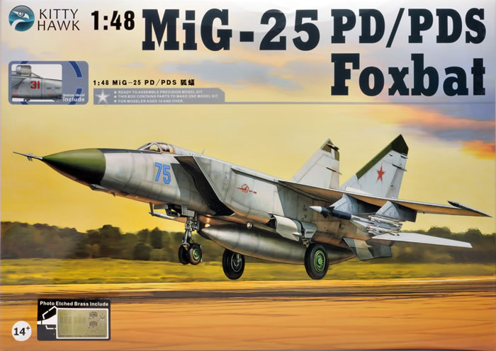 Revell 1/48 Mig-25P 'Foxbat'