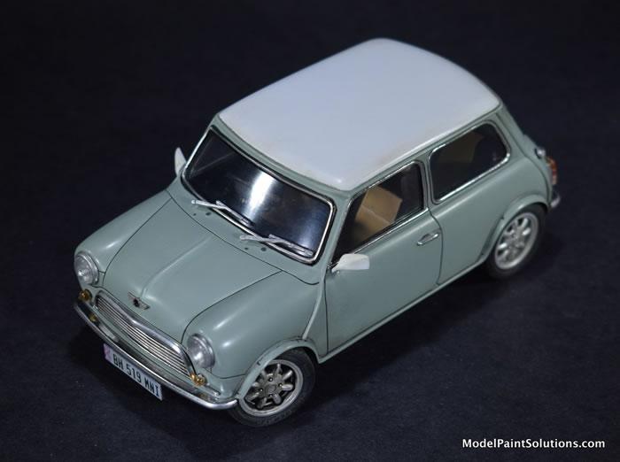 1:24 Mini Cooper Vintage Fujimi