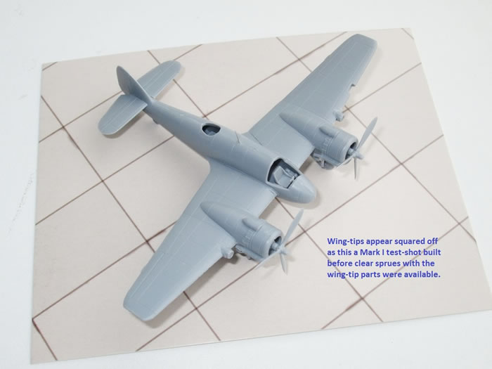 Mark 1 Models 1/144 scale Beaufighter Kits Review by Mark Davies