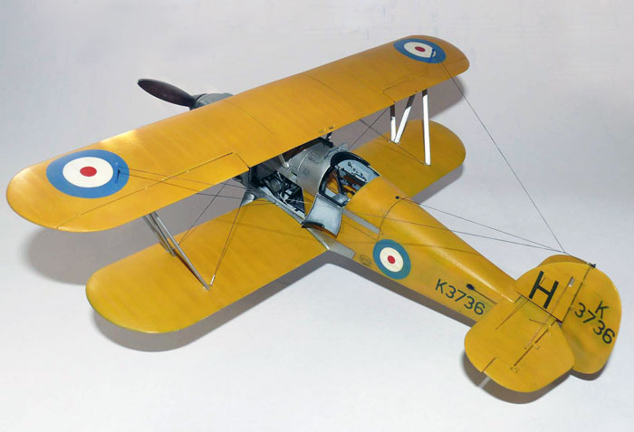 Fury mk ii Montex Hawker Fury Mk.i
