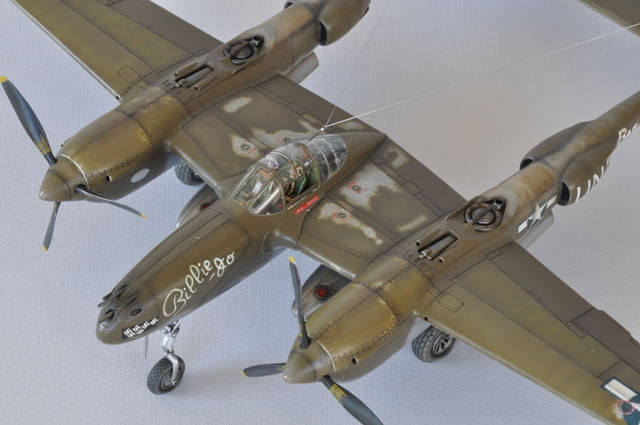 Academy S 1 48 Scale Lockheed P 38e Lightning By Francesco